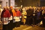 Arcybiskup Ryś  z paliuszem w dzień św. Faustyny. Zobacz, kto szedł w procesji [zdjęcia]