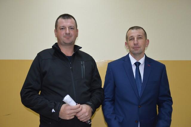 Maciej Krzak (z lewej) i Robert Gomułka chcą swoich lekarzy