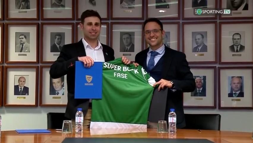 Podpisanie umowy między FASE a Sportingiem