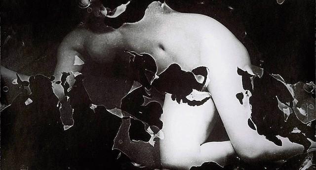 Jedna z prac Zdzisława Beksińskiego z kolekcji Piotra Dmochowskiego