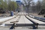 Trasa autobusowo-tramwajowa na Nowy Dwór. Rozpoczęło się betonowanie nowego wiaduktu (ZDJĘCIA)
