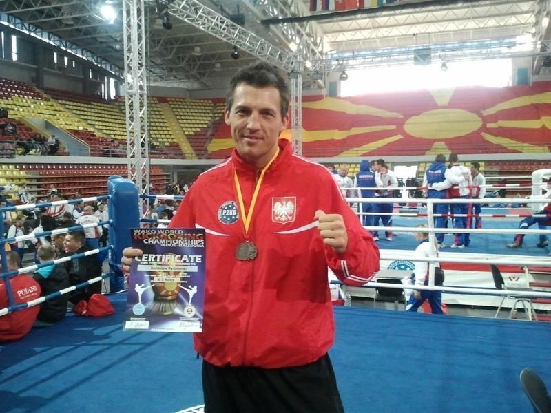 Radosław Rydzewski został w Skopje wicemistrzem świata