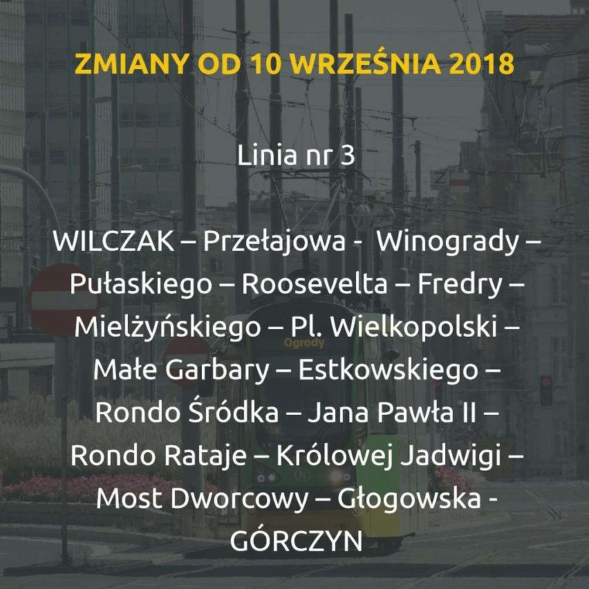 10 września - ten poniedziałek powita pasażerów MPK Poznań...