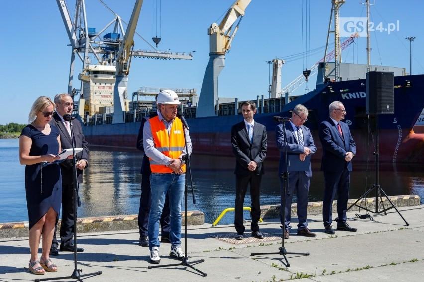 """""""Poprawa dostępu do portu w Szczecinie w rejonie Kanału..."""