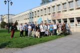 Inowrocław. Miłośnicy miasta spacerowali śladami Zygmunta Wilkońskiego, założyciela inowrocławskiego uzdrowiska [zdjęcia]