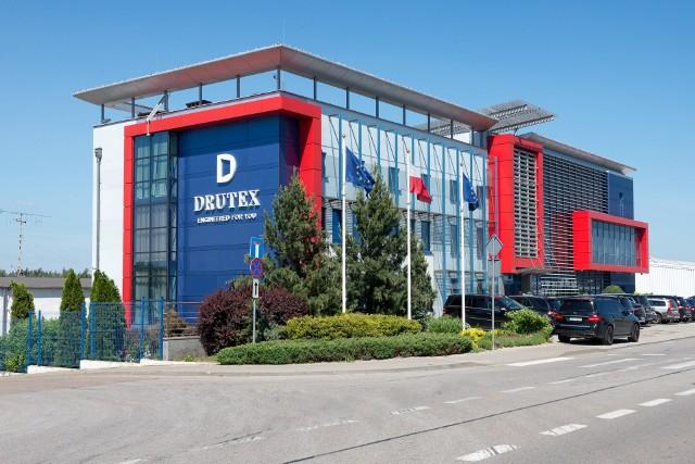 Siedziba Drutexu w Bytowie.