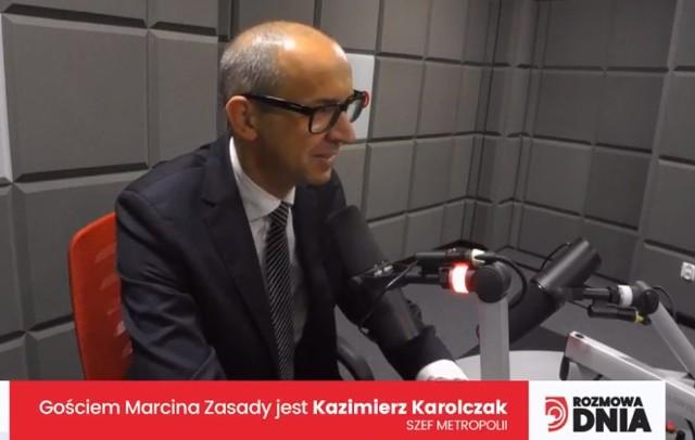 1 października, Gościem Dnia DZ i Radia Piekary jest Kazimierz Karolczak, szef Górnośląsko-Zagłębiowskiej Metropolii