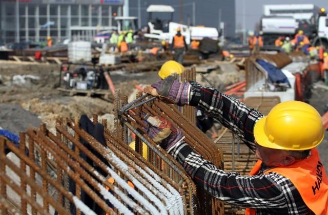 Pracownik w branży budowlanej - zdjęcie ilustracyjne