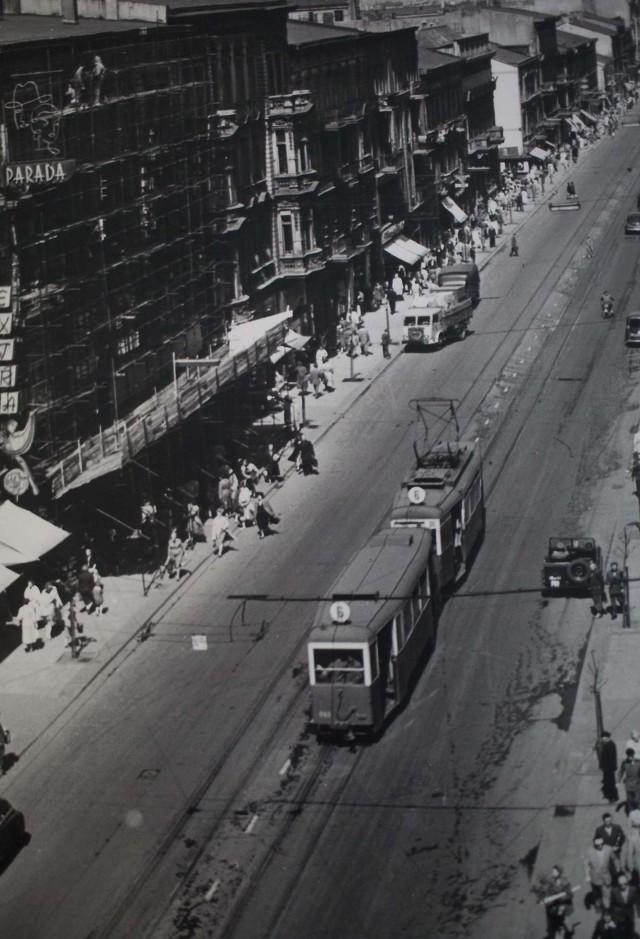 Klub Miłośników Starych Tramwajów ocenia, że zdjęcia wykonano na  przełomie lat 50. i 60.