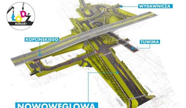 Tak ma wygladać Nowowęglowa po zakończeniu inwestycji.