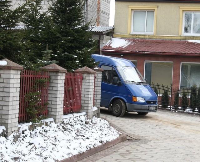 Niebezpieczny zakręt przy ul. prof Degi.