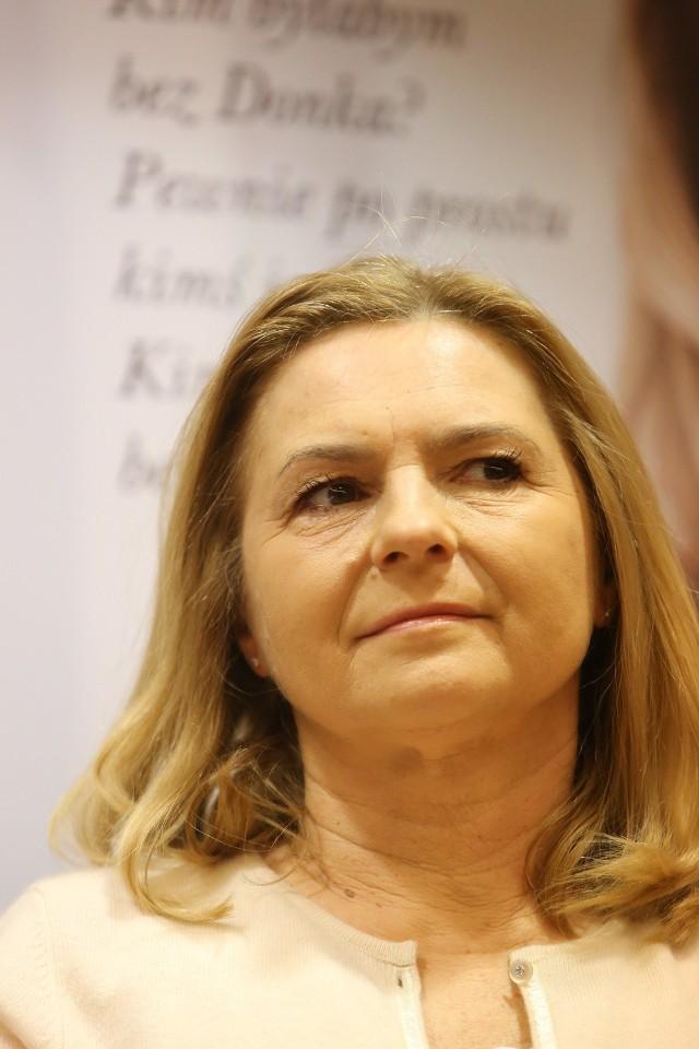 """Małgorzata Tusk na promocji książki pt. """"Między nami"""" w Katowicach"""