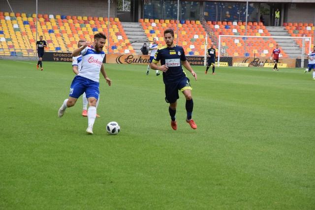 Valerijs Sabala otworzył wynik, ale Podbeskidzie nie utrzymało przewagi i zremisowało u siebie z Sandecją Nowy Sącz