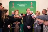 Szef turniejów FIFA Jaime Yarza - Świat futbolu patrzy teraz na Łódź! [FILM]