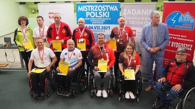 Lubuscy strzelcy niepełnosprawni zdobyli 14 medali mistrzostw Polski.