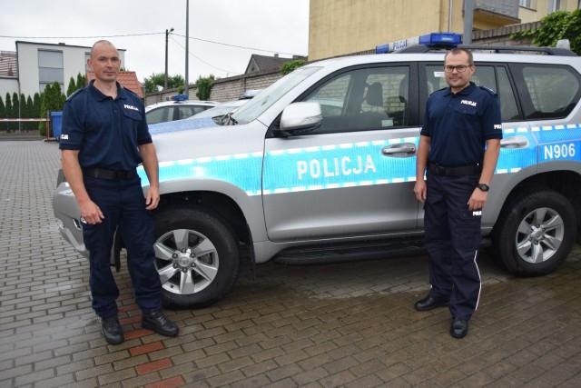 Bytowscy policjanci uratowali życie nieprzytomnemu mężczyźnie.