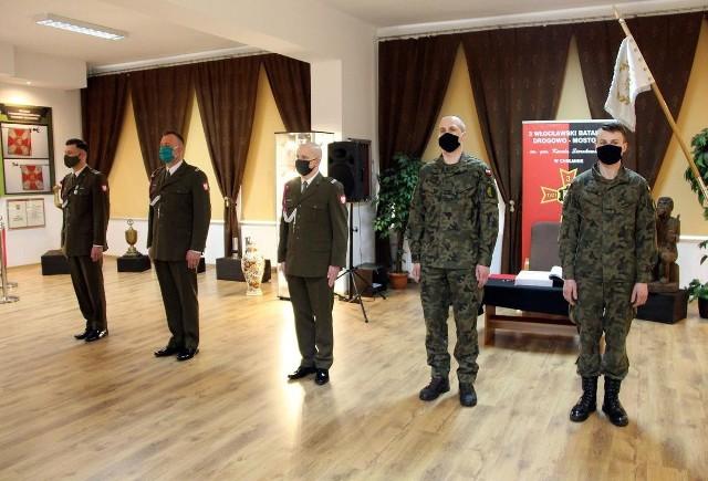 Trzech żołnierzy z chełmińskiej jednostki wojskowej uzyskało mianowania na wyższe stopnie podoficerskie