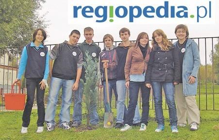 Na zdjęciu uczniowie zwycięskiego gimnazjum nr 12 w Szczecinie.