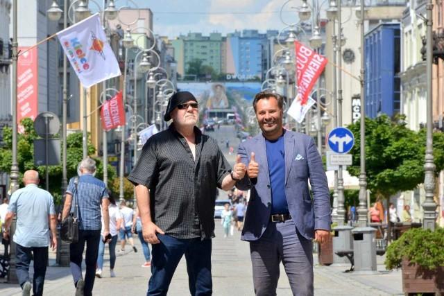 Jurek Mozolewski i Sebastian Michalski, organizatorzy Budzenia Sienkiewki.