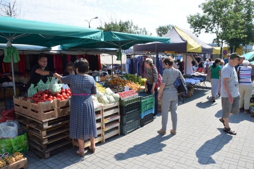 We wtorek 13 lipca na kieleckich bazarach rekordowo niskie...