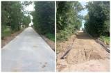 W gminie Brańsk pojawiają się kolejne betonowe drogi. Zobaczcie zdjęcia!
