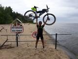 Ale wyczyn! Kamil Jędrzejczyk z gminy Bliżyn pokonał na rowerze 1200 kilometrów w 149 godzin