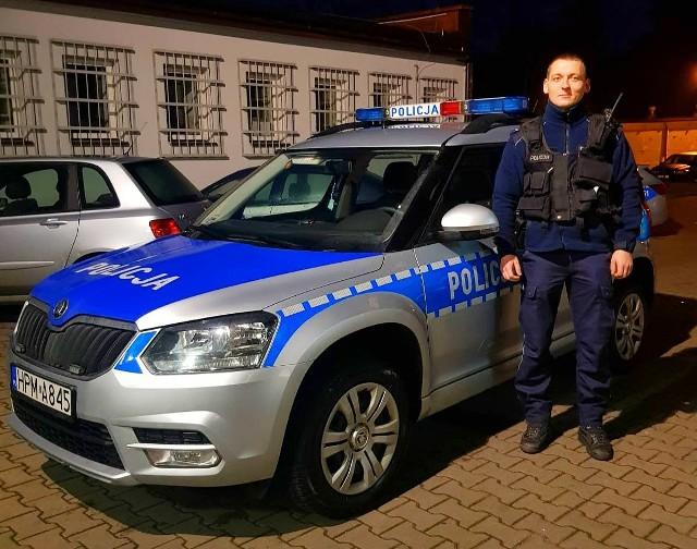 Hajnowscy policjanci uratowali ludzkie życie. Dzięki czujności zgłaszającej i szybkim działaniom mundurowych nie doszło do tragedii.