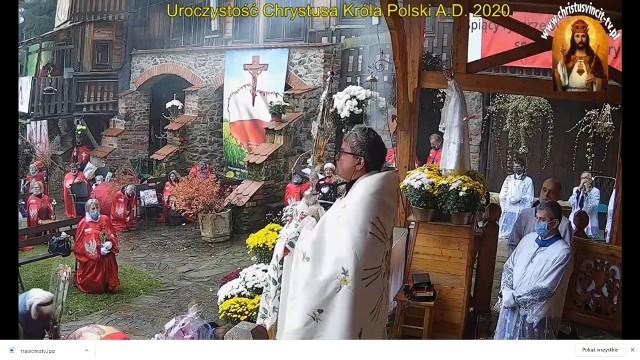 Piotr Natanek zwołał wiernych do Pustelni Niepokalanów w Grzechyni
