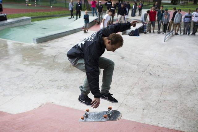 W Krakowie jest mało skateparków, ale ich liczba może wzrosnąć. Na zdjęciu skatepark w Parku Jordana