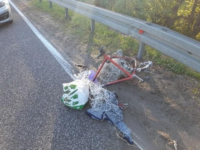 W wypadku w Sroczkowie w powiecie buskim zginął 66-letni rowerzysta