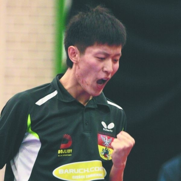Liu Wei nie miał dotąd wielu powodów do radości. Oby dziś było inaczej.