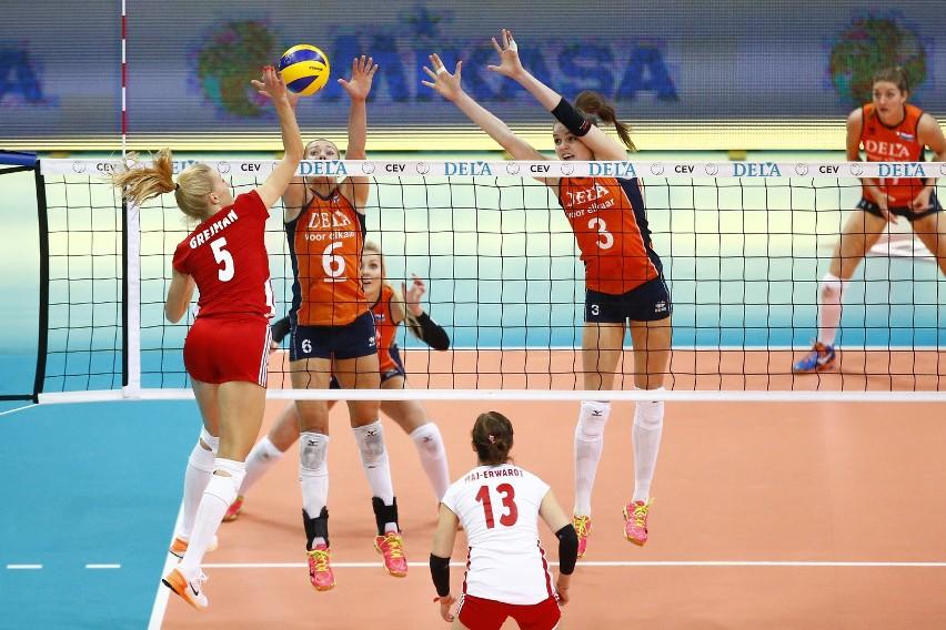 Maret Balkestein (nr 6) wystąpi w niedzielnym finale mistrzostw Europy