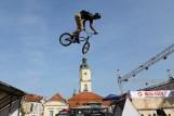 Extreme Festiwal Białystok 2017. Białostoczanie podziwiali rowerowe akrobacje [FOTO]