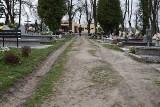 Inowrocław. Wreszcie na cmentarzu komunalnym w Inowrocławiu powstaną nowe alejki. Prace zleci miasto. Zdjęcia