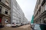 Pierwsze kamienice przy ul. Włókienniczej będą gotowe już w tym roku. Kolejne - wiosną
