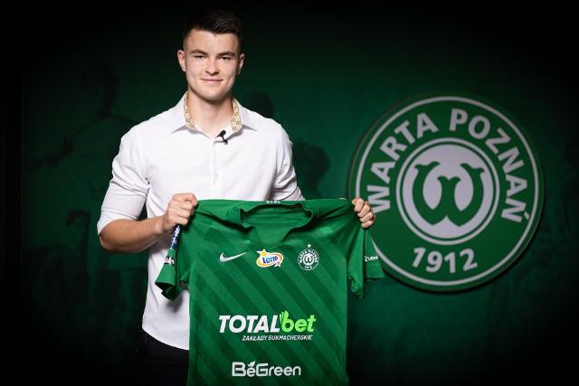Wiktor Pleśnierowicz został piłkarzem Warty Poznań