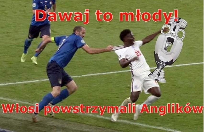 Memy po finale Euro 2020 Włochy - Anglia...
