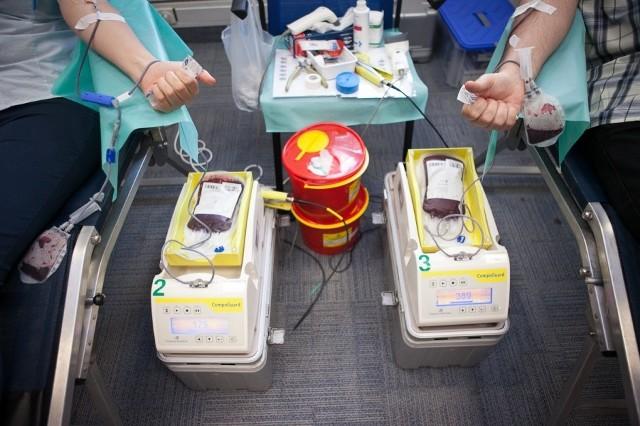 W środę centrum krwiodawstwa przeżywa oblężenie. Tłumy chętnych do oddania krwi