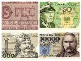 Od 2 złotych do 5 milionów. Pamiętasz jeszcze te banknoty z PRL-u?