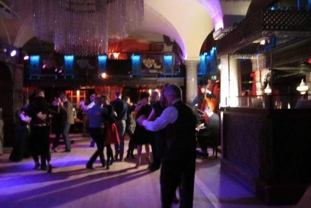 W piątek wieczorem w klubie Shanti tańczono tango.
