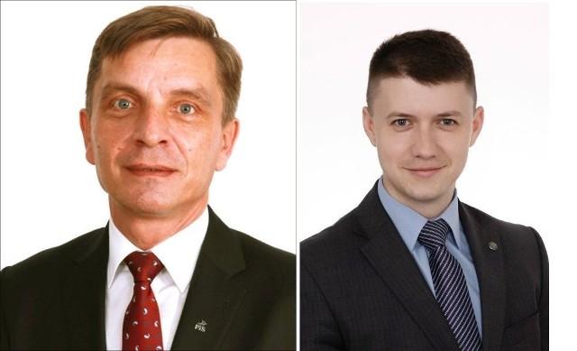 Od lewej Andrzej Pruś i Bartłomiej Dorywalski