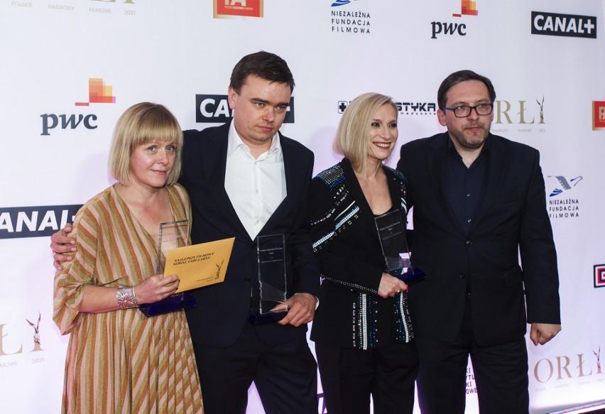 Orły 2021 rozdane. Wyniki. Kto otrzymał Polskie Nagrody Filmowe? Lista laureatów. Zobacz zdjęcia z gali