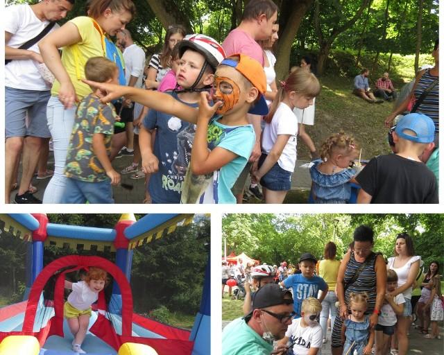 Mieszkańcy Wąbrzeźna i okolic licznie przybyli na otwarcie placu rekreacyjno-sportowego