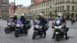 Na wrocławskie ulice wyjechały policyjne motocykle
