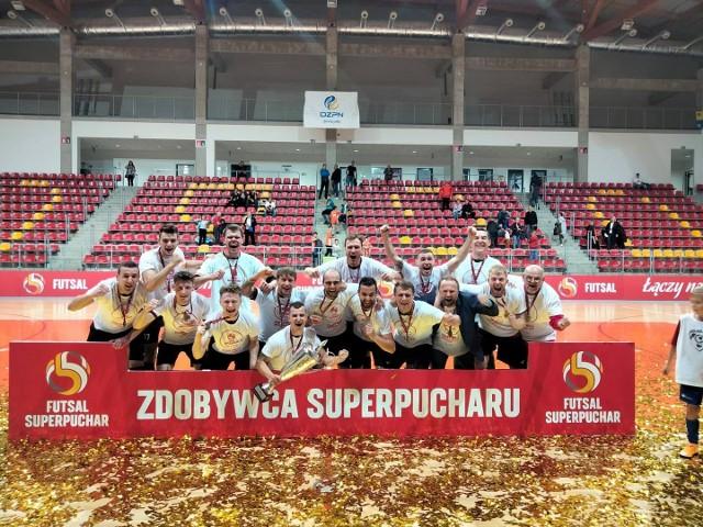 Red Dragons Pniewy w środę zdobył superpuchar Polski. To drugie trofeum w historii klubu.