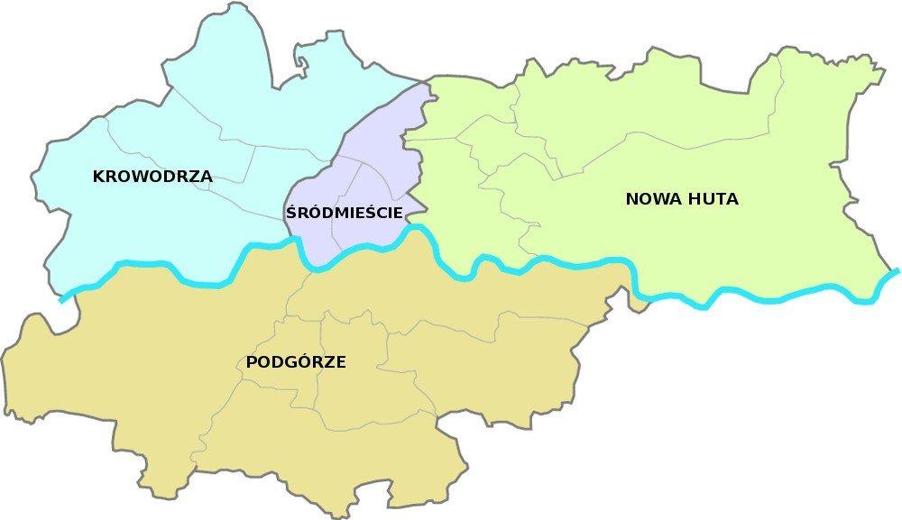 Mniej Dzielnic W Krakowie Sa Pierwsze Inicjatywy W Tej Sprawie