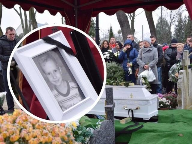 3,5-letni Tomaszek został pochowany na cmentarzu komunalnym w Kwidzynie.