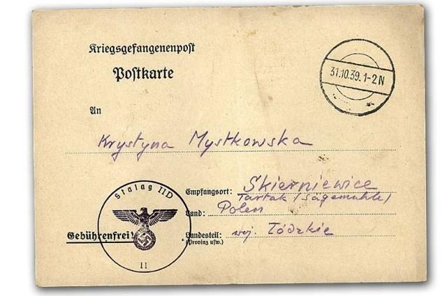 Kompletna obozowa korespondencja z okresu całej wojny to zbiór rzadko spotykany i niezwykle cenny historycznie.