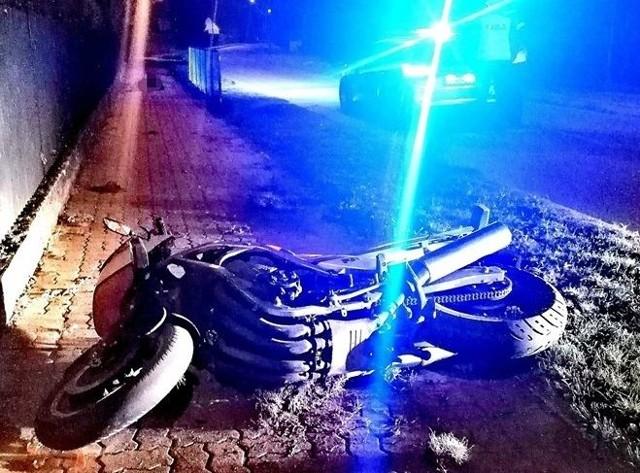 Wypadek w Brańszczyku. Motocyklista zginął na miejscu. 6.09.2019