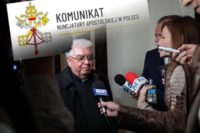 Biskup Jan Tyrawa zarządzał diecezją bydgoską od 2004 r.